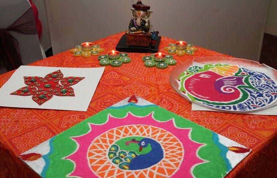 Ganpati on table